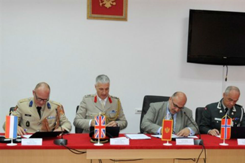 Photo from the event; Copyright: PR Team, Ministry of Defence of Montenegro