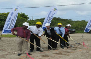 Ground broken on post-Hurricane Ike EU Housing Project
