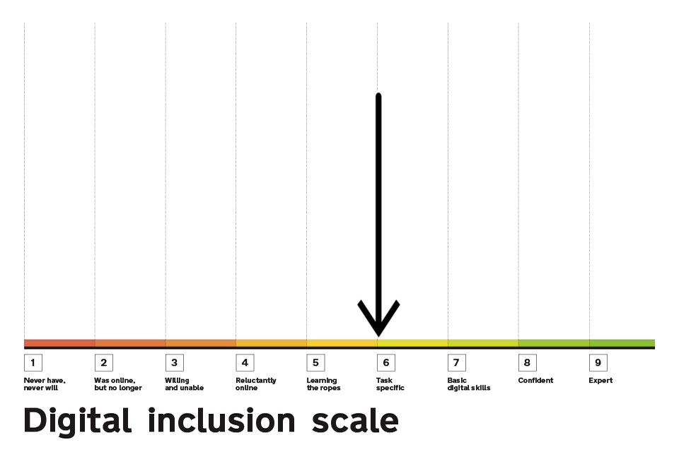 Digital Inclusion Scale highlighting point six