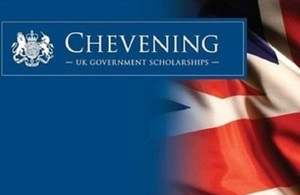 The UK's Chevening Scholarship Programme for academic year 2015-16 is now open for applications