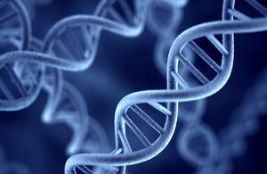 DNA close up
