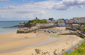 North Beach, Tenby, Pays de Galles