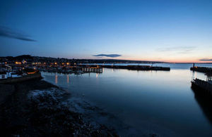 Picture of Newlyn harbour