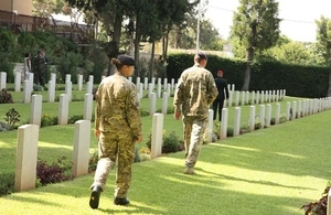 First World War Commonwealth War Grave Cemetery Beirut