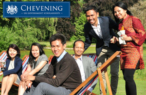 Indonesian Chevening Scholars 2014/15