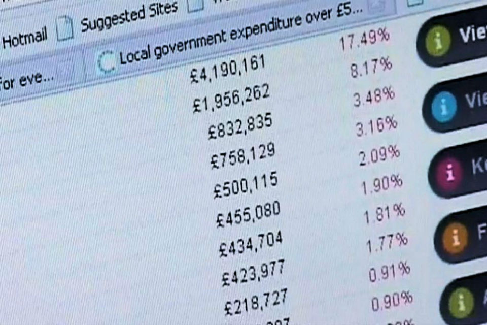 Local government spending