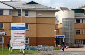 Broomfield Hospital.