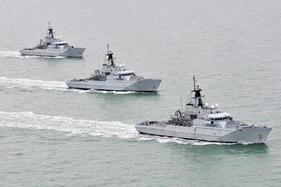 River Class patrol vessels