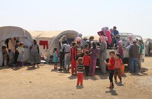 International Rescue Committee helping Iraqi Yazidi refugees in Newroz camp. Picture: Rachel Unkovic/International Rescue Committee