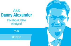 Danny Alexander Facebook Q&A