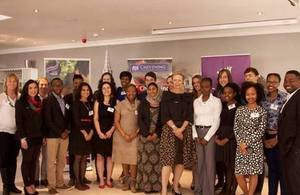 2014/15 Chevening Scholars with High Commissioner Judith Macgregor
