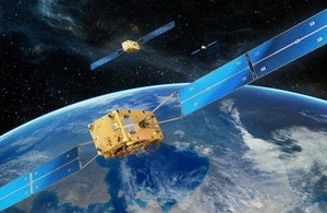 Galileo satellites.