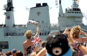 HMS Illustrious (library image) [Picture: Crown copyright]