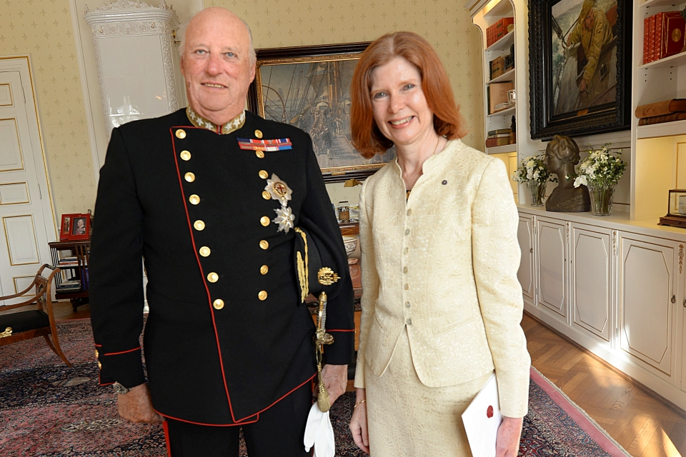 King Harald HMA Gillett