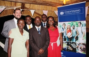 British Embassy Harare Chevening 2014
