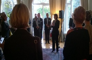Ambassador Price at the Residence