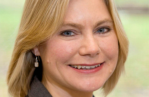 Photo of Development Secretary Justine Greening