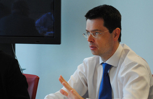 Immigration & Security Minister James Brokenshire