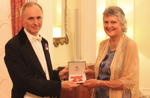 Ms Jane Best honoured by The Queen