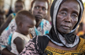 Photo of South Sudanese refugees