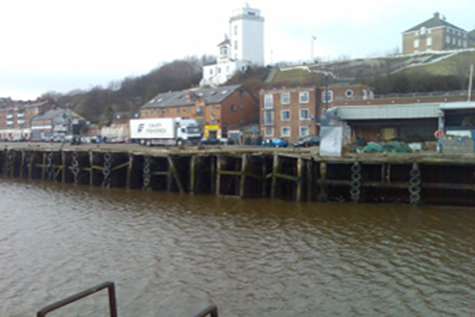 Western Quay before restoration