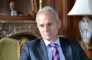 UK Minister for Europe, David Lidington