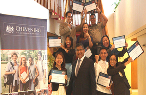 Chevening Scholars SY 2014-15