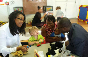 Sam Gyimah's recent visit to Brown Bears Nursery