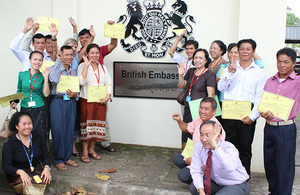 English language teacher training programme participants