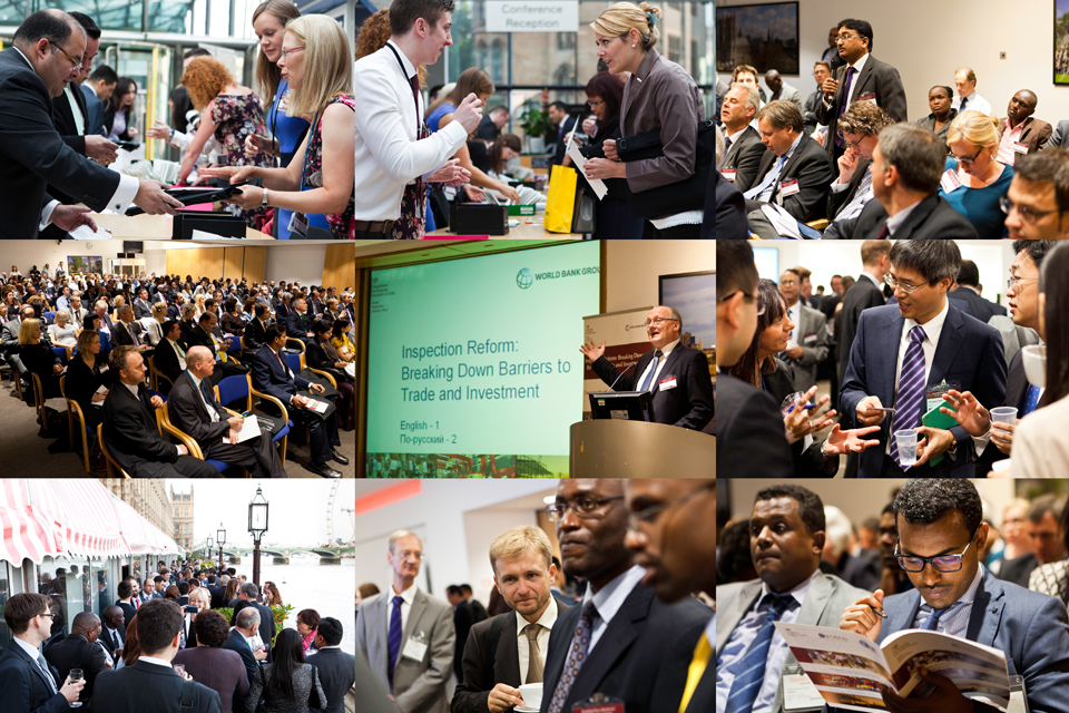 A montage of pictures from the International Reform Conference 2014.