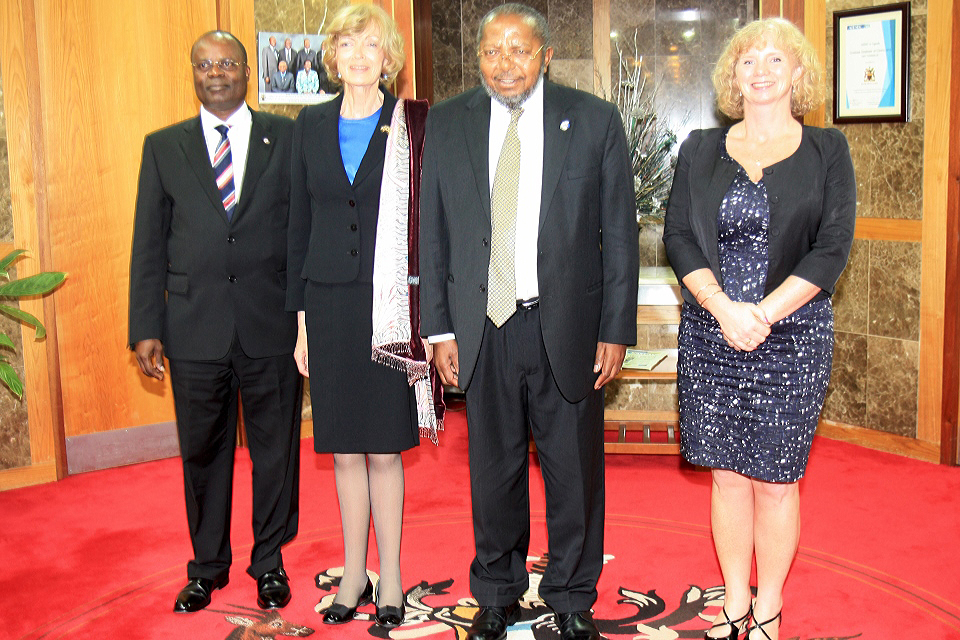 Rt Hon Fiona Woolf at BOU