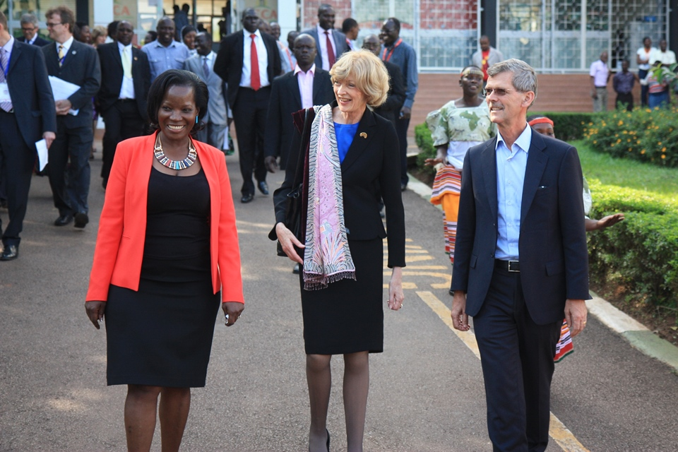 Rt Hon Fiona Woolf at KCCA