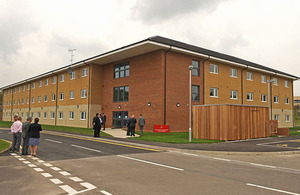 The new Elixheim building in Andover [Picture: Crown copyright]