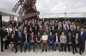 Delegates from all 13 participating nations of the Invictus Games attended the best practice defence recovery summit [Picture: Sergeant Pete Mobbs RAF, Crown copyright]