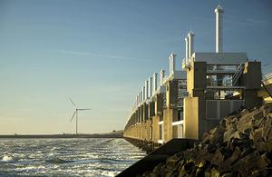 Une éolienne off-shore