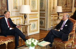 Foreign Secretary and French Minister