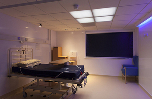 HealWell lighting at Headley Court has resulted in patients sleeping for approximately 30 minutes longer [Picture: Copyright Philips 2013]