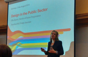Expert Ellie Runcie from the UK Design Council.