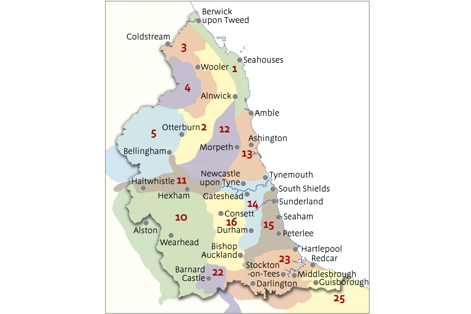 Map Of England Derbyshire.National Character Area Profiles Gov Uk