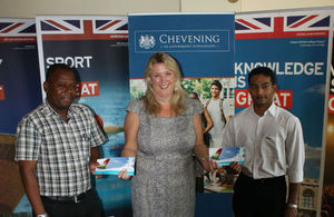 Chevening hand over