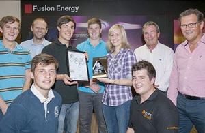 Culham Apprentice scheme winners