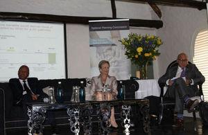 Minister Jeff Radebe, HC Judith Mcgregor and Trevor Manuel