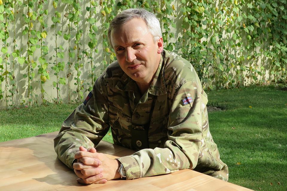 Major General Ben Bathurst