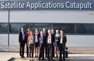 Polish scientists in Satellite Applications Catapult in Harwell