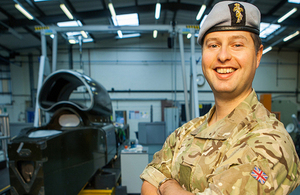 Major Oli Morgan [Picture: Crown copyright]