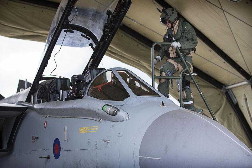 RAF Tornado pilot