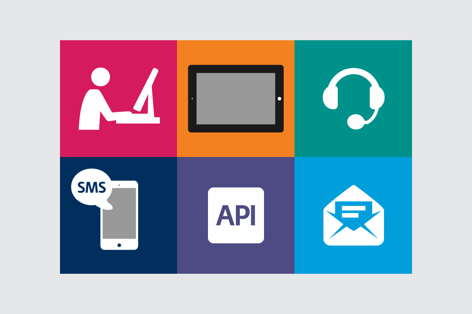 Image depicting six Information Technology and Communication themed icons