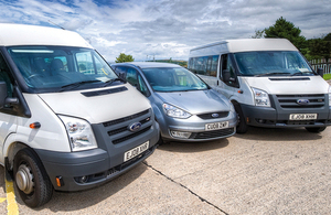 DVLA fleet vehicles
