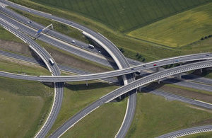 Motorway intersection