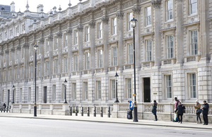 Whitehall - Cabinet Office exterior.